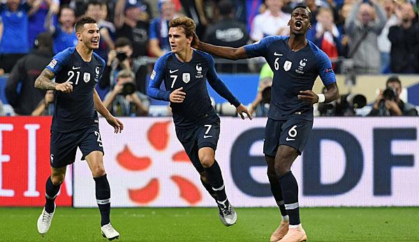 Deutschland Vs Frankreich Nations League