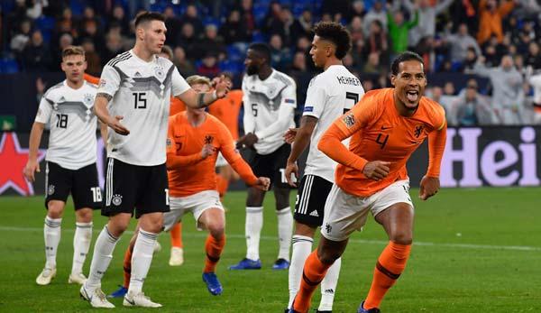 Fußball Deutschland Niederlande Heute
