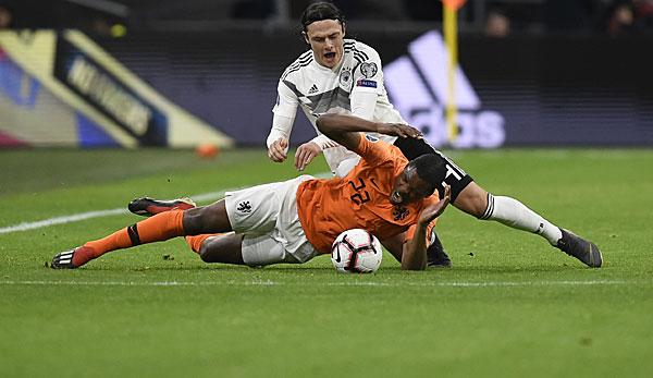 Deutschland Dfb Team Gegen Niederlande In Der Em Qualifikation