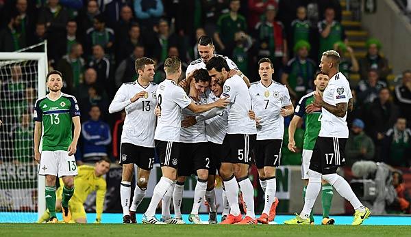 Deutschland Nordirland U21