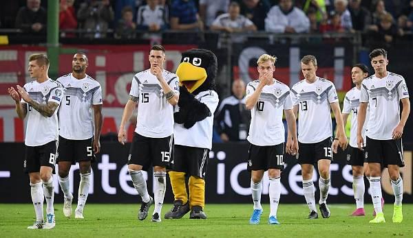 06.09.2019 Deutschland EM-Qualifikation Niederlande in Hamburg