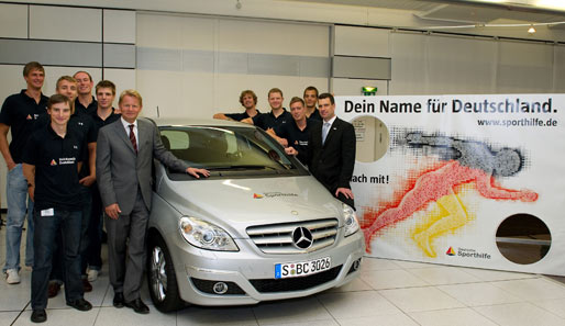 Als Hauptpreis winkt eine nagelneue Mercedes-Benz B-Klasse B 180 BlueEFFICIENCY Sports Tourer