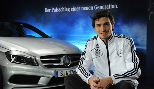 photo of Mats Hummels Mercedes-Benz A-Klasse - car