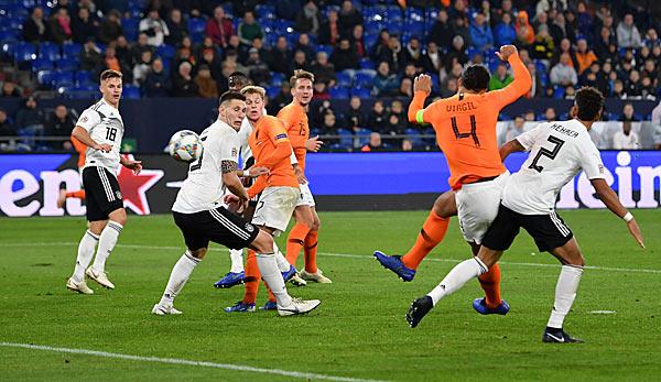 Deutschland Niederlande 22 Später Einbruch Verhindert