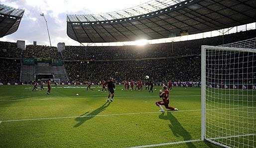 Auch über 2015 Hinaus Im Berliner Olympiastadion