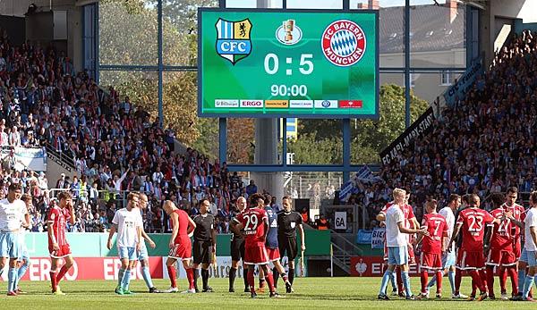 Chemnitz Gegen Bayern