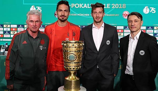 Fc Bayern Gegen Eintracht Frankfurt Im Dfb Pokal Finale Live Datum
