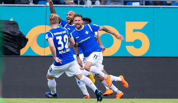 Dfb Pokal Darmstadt 98 Siegt Beim 1 Fc Magdeburg Glücklich Mit 10