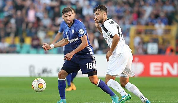 FC Schalke 04 eröffnet heute die erste Runde des DFB-Pokals.
