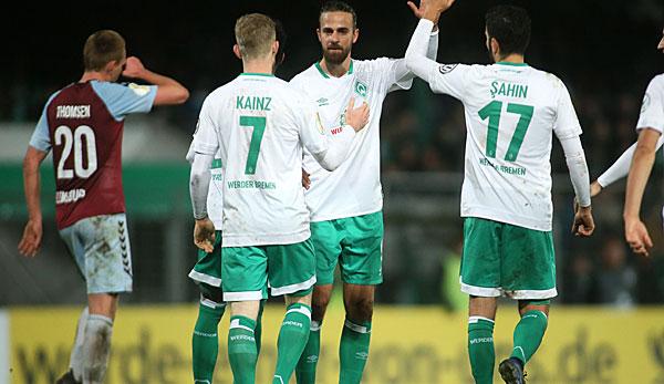 Sc Weiche Flensburg Werder Bremen Werder Zieht In Die Nächste Dfb