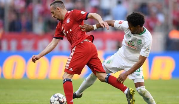 DFB-Pokal - Werder Bremen vs. FC Bayern: Deshalb fällt Franck Ribery aus