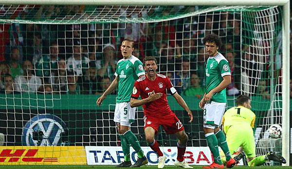 Thomas Müller vom FC Bayern dreht im DFB-Pokal gegen Werder Bremen auf: Was zu beweisen war