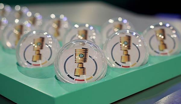DFB-Pokal: Auslosung der 2. Runde heute im LIVE-TICKER