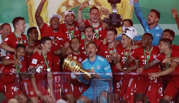 Le FC Bayern a remporté la Coupe DFB cette année.