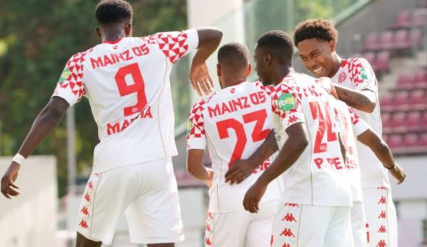 Der FSV Mainz 05 eröffnete die DFB-Pokal-Saison.