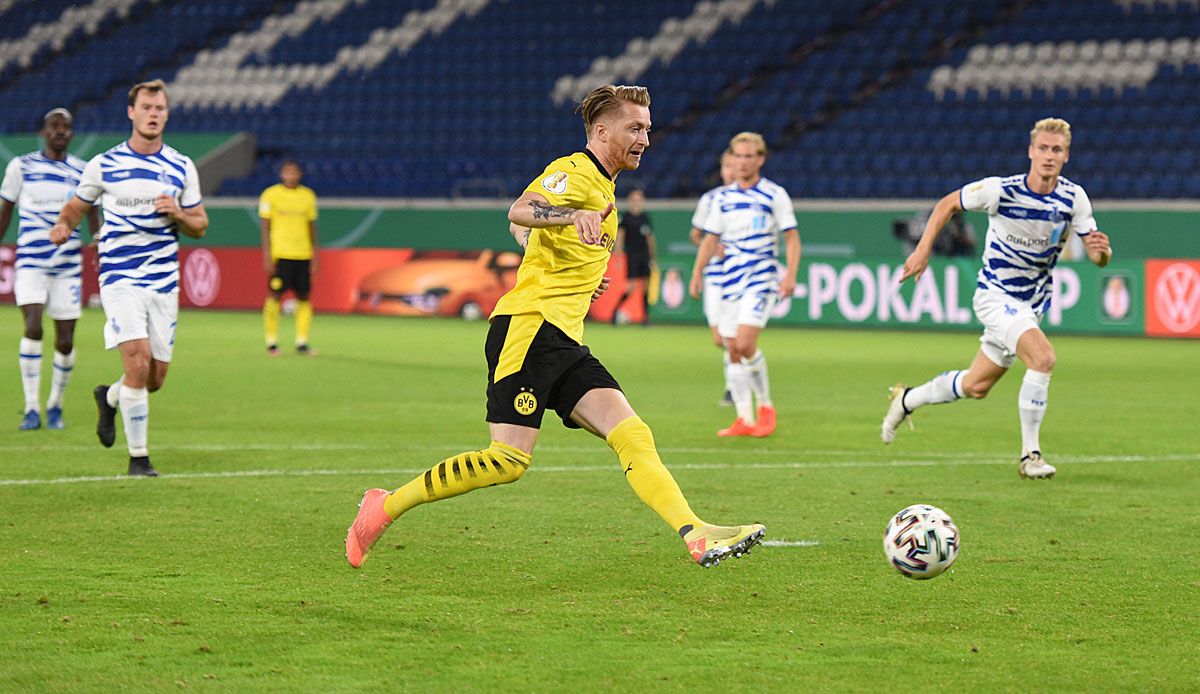 BVB: Marco Reus stellt mit Joker-Tor einen neuen DFB-Pokal ...
