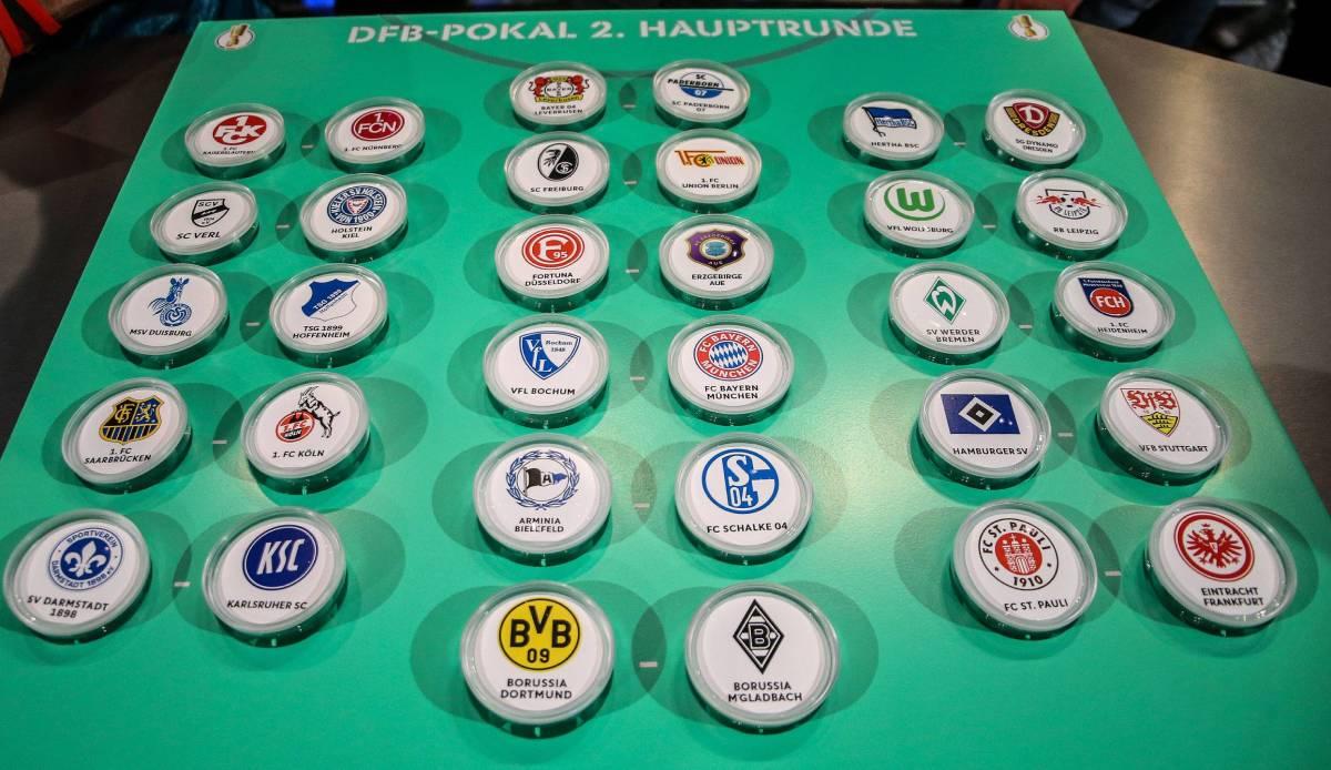 Dfb Pokal Auslosung 2. Runde
