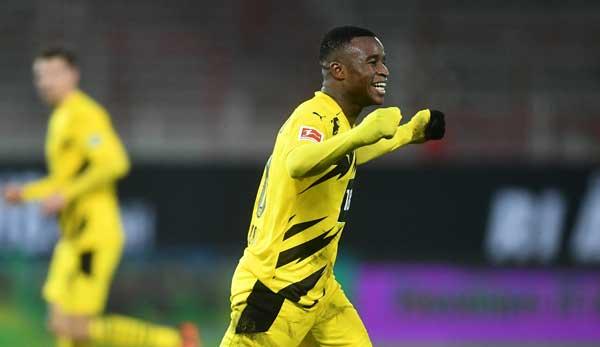 BVB-Talent Youssoufa Moukoko ist nach seinem Treffer gegen Union Berlin der jüngste Torschütze der Bundesliga.