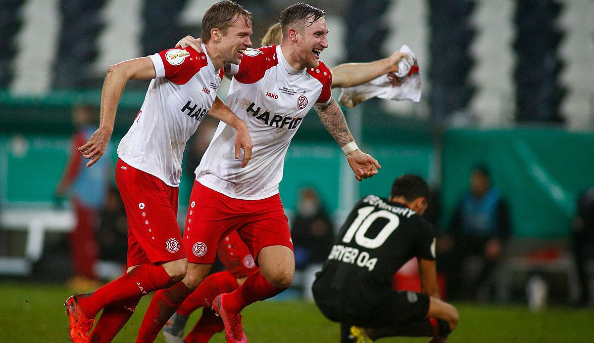 Holstein Kiel siegt über Rot-Weiss Essen: Der DFB-Pokal im Ticker zum Nachlesen