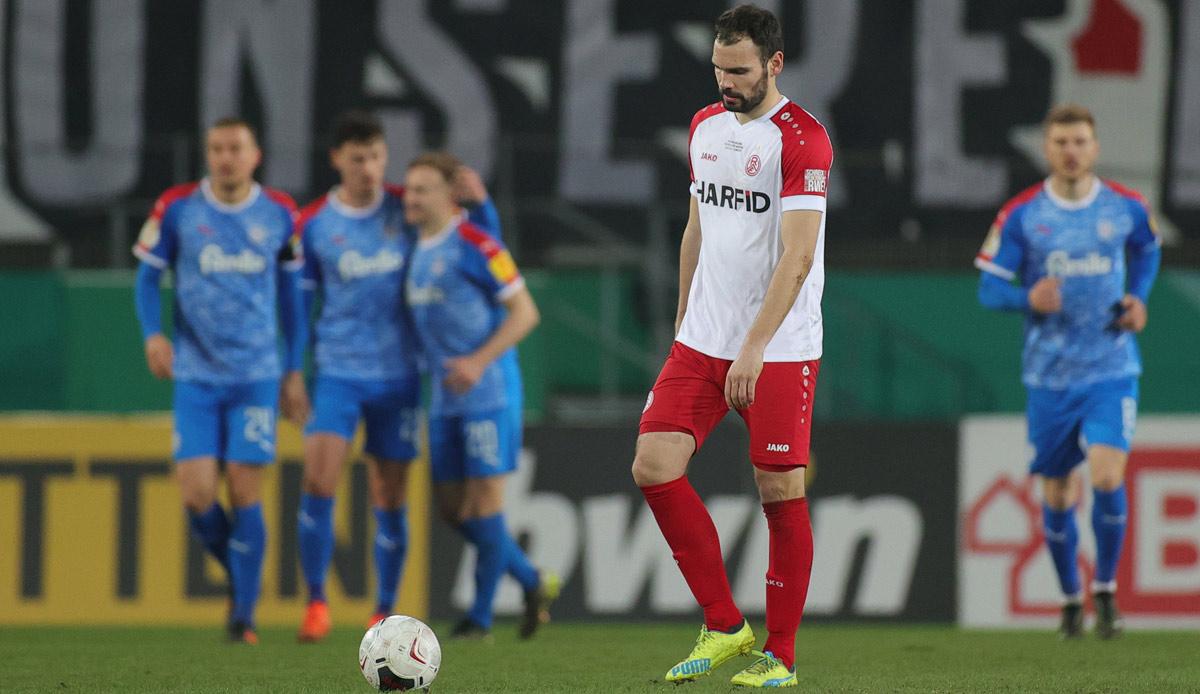 DFB-Pokal - Riesenskandal: Kiel im Halbfinale, Essen zürnt über Schiedsrichter