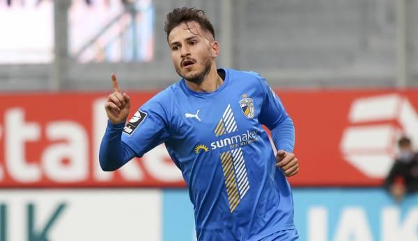 Daniele Gabriele mène Jena avec seulement six buts.
