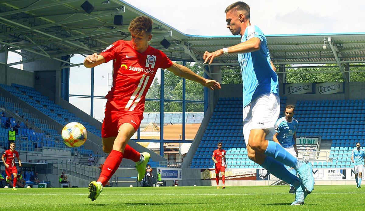 3. Liga: Chemnitzer FC vs. Hansa Rostock: Das 4:2 zum Nachlesen im Liveticker