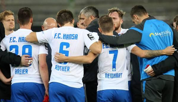 Hansa Rostock est sixième de la ligue après onze matchs.