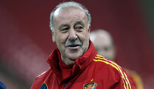Vicente del Bosque ist seit 2008 Nationaltrainer Spaniens