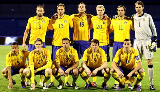 schweden fußball nationalmannschaft