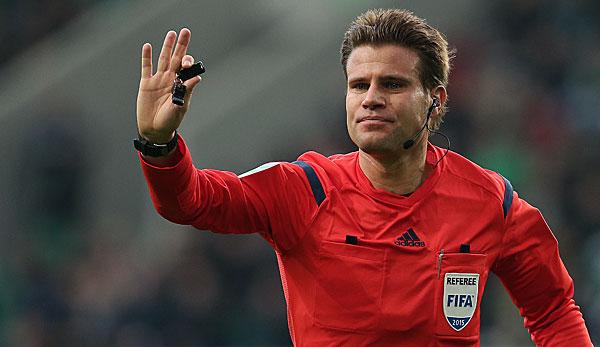 Uefa Gibt Schiedsrichter F 252 R Em Bekannt