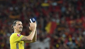 Zlatan Ibrahimovic hat seine internationale Karriere beendet
