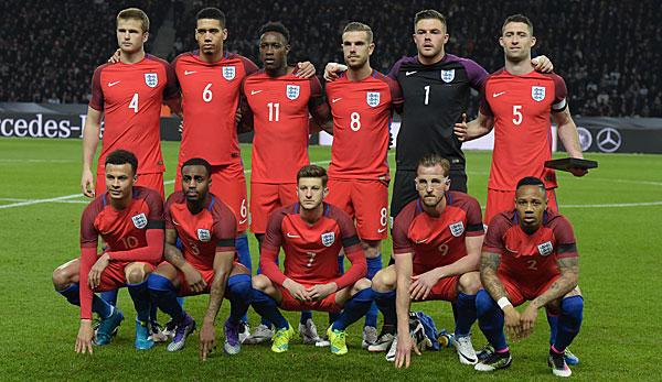 Em Ergebnisse England