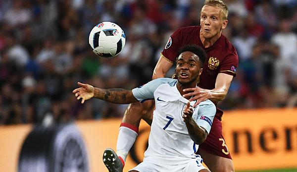 Spiel England Russland