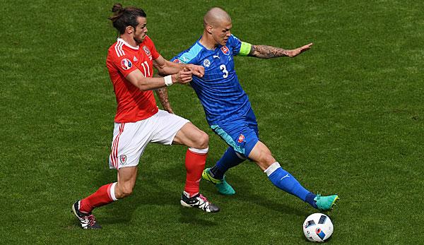 Spiel Wales Slowakei