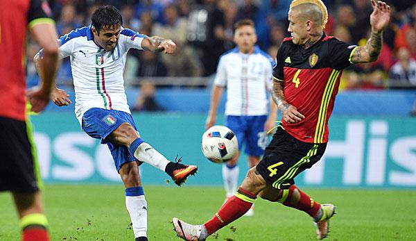 Spiel Belgien Italien