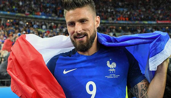 Frankreich FuГџball Spieler