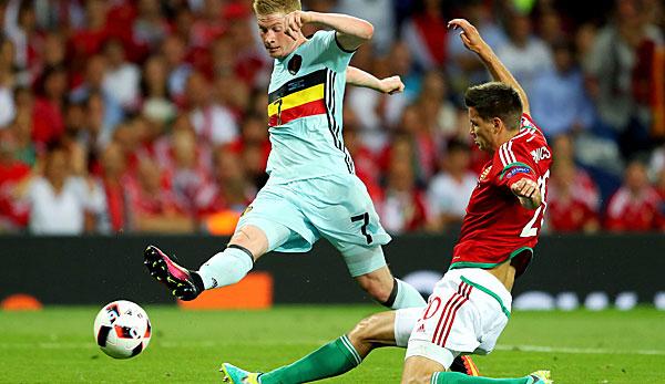 Belgien Ungarn Em