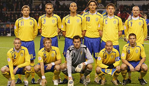 schwedische nationalmannschaft fußball