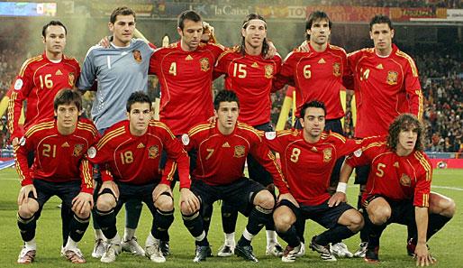 El equipo nacional español