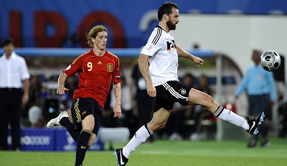 EM 2008: Diese Spieler liefen im Finale zwischen ...