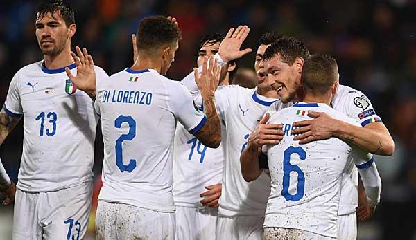 Italien in der EM-Quali 2020: Mancini stellt Uralt-Rekord von Pozzo ein