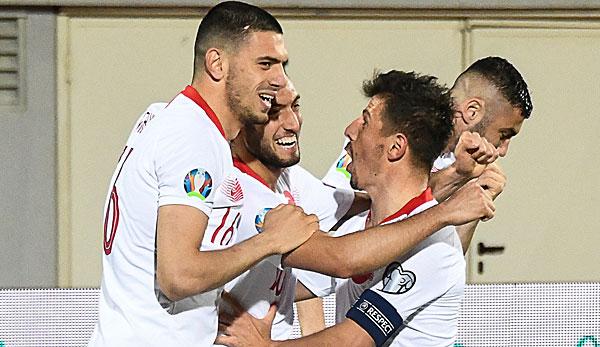 Albanien Türkei Fussball