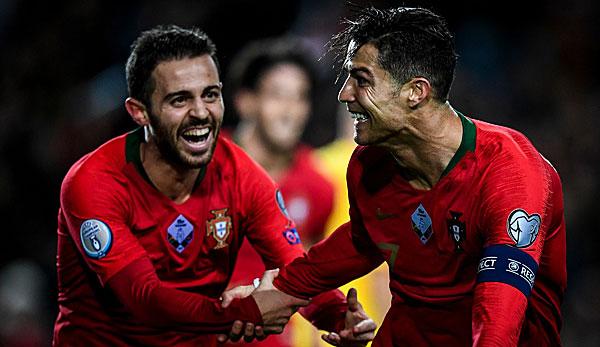EM-Qualifikation: Luxemburg gegen Portugal heute live im TV, Livestream und Liveticker