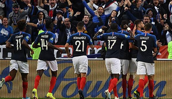 Frankreich gegen Moldawien heute live: EM-Qualifikation im TV, Livestream und Liveticker