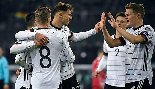 Deutschland Dfb Team Gegen Nordirland Em Qualifikation