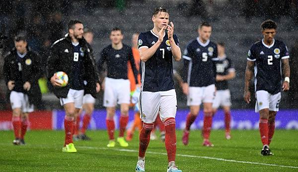 Schottland Gegen Kasachstan Em Qualifikation Heute Live Im
