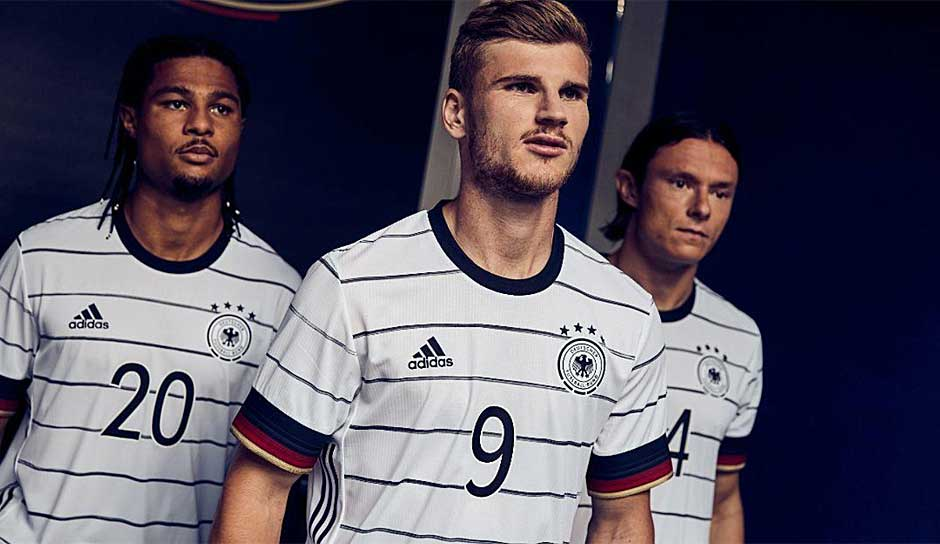 Em 2020 Die Neuen Trikots Von Deutschland Spanien