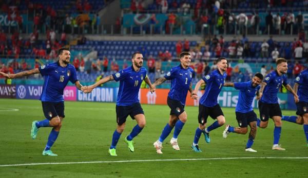 Italien steht nach zwei Siegen bereits im Achtelfinale.