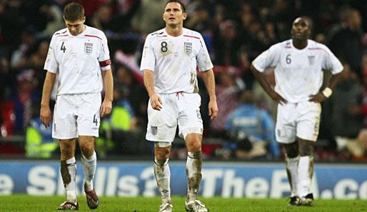 England Auf Trainersuche