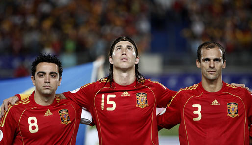 Nationalmannschaft, Xavi, Ramos